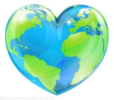 Earth Shaped Heart